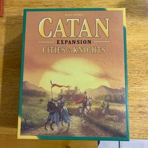 Catan Expansion Cities & Knights Board Game